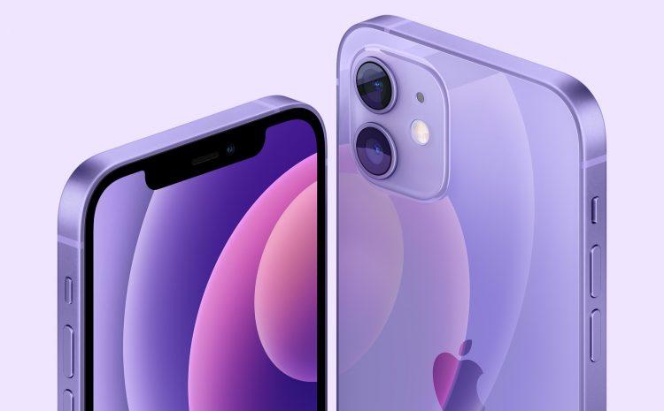 Apple dévoile un iPhone 12 et un iPhone 12 mini de couleur violette, ainsi que des abonnements aux podcasts